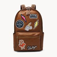Tas Fossil Buckner Backpack Cognag MBG9511222