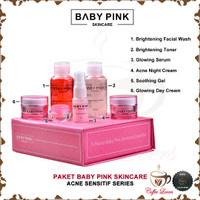 BABYPINK BABY PINK SKINCARE for ACNE SENSITIF 1 SET ORIGINAL BPOM