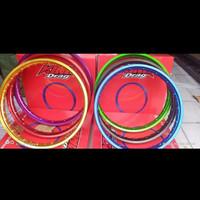 Velg King Drag Jari Jari W Shape Ring 17 x 140 / 140 Warna - Gold