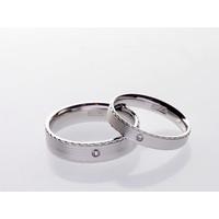 RC 027- Cincin Couple Perak Sterling 925 Emas Putih ASLI Korea-Garansi