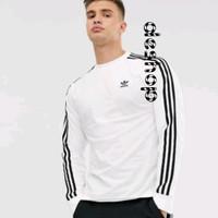 Tshirt - Long Sleeve Shirt - Kaos Lengan Panjang - Adidas
