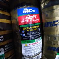 ban balap IRC FASTI 1 uk 110/70-17 ring 17 Slick Tire Soft Compound