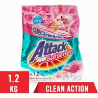 Attack softener 1.2 kg / detergent bubuk 1200 gr