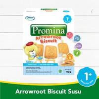 Promina 12+ Biskuit Arrowroot Rasa Susu 130 gr