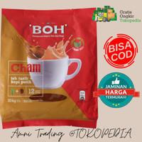 BOH CHAM teh tarik plus white coffee 12stick x 27g TERMURAH