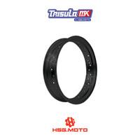 VELG SUPERMOTO TMX ALUM MT RIM 3.50x17 32H - BLACK