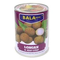 BALA Brand Longan Kaleng 565gr / Buah Longans Kelengkeng