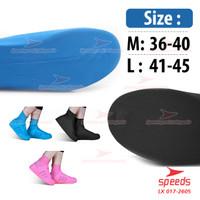 Cover Shoes rain shoes pelindung sepatu Speeds 017-2605 18PC=1.3KG