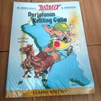 komik lebar serial asterix perjalanan keliling galia classic edition