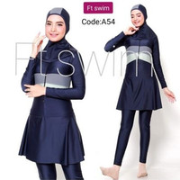 Baju renang muslimah dewasa/pakaian renang remaja muslim