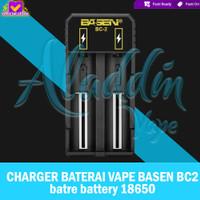 AUTHENTIC 100% CHARGER BATERAI VAPE BASEN BC2 bc 2 batre battery 18650
