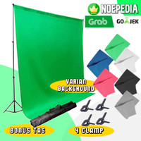 Stand Background 3 Meter / Bracket Green Screen / Tiang Backdrop 10 ft