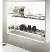rak piring stainless kitchen set 80cm vitco