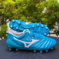 Sepatu Bola Mizuno Neo Morelia II Leather Sky Blue FG