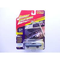 Johnny Lightning 1967 Plymouth Barracuda Biru