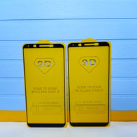 Tampered Glass TG Anti Gores Screen Protector 9D Full Layar Oppo F5