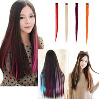 Rambut Palsu Hair Clip Highlight Extension Rambut Sambungan Clip 1 pc