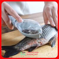 Alat Pembersih Pengupas Sisik Ikan - Fish Scale Remover 2 in 1
