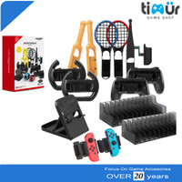 14 in 1 Super Game Gaming Kit Sportswear Accessories Nintendo Switch