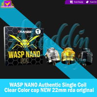 Authentic 100% WASP NANO Authentic Single Coil NEW 22mm rda original