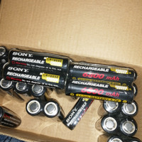 batre 18650 sony recharge 6800mAh