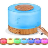 Air Humidifier Diffuser 500ml 7 Warna + Remote Control   Aroma Terapi