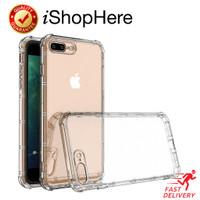 Air Pillow Anti Crack Clear Case Casing Bening iPhone 7 8 Plus SE 2