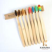 Sikat Gigi Bambu Eco-Friendly Bamboo Toothbrush