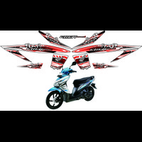 STICKER BUAT MOTOR HONDA VARIO 110 THAILOOK STRIPING CUSTOM ART STIKER