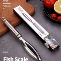 Alat pembersih sisik ikan stainless steel 304 fish scale planer