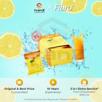 PAKET Fibro 2 Box Lemon Fiber Minuman Serat Alami   Detoks Detox Diet