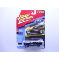 Johnny Lightning 1973 Ford Mustang Mach 1 Black Classic Gold