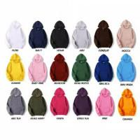 Jaket Sweater Polos Hoodie Jumper Premium Bahan Fleece Harga MURAH - putih [jumper], M
