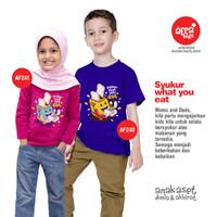Kaos Anak Laki-Laki Afrakids Lengan Pendek Premium AF240 - M