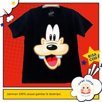 Baju/Kaos Anak Lengan Pendek Motif Goofy 1 - 10 Tahun
