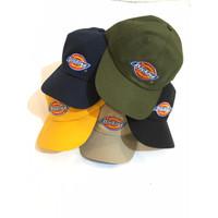 topi baseball caps dickies bordir original,topi dickies polo cup ori