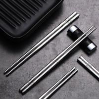 Sumpit Korea Sujeo Stainless Steel Food Grade Bahan Stainless SUS 304