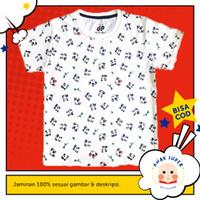 Baju anak perempuan / Kaos anak perempuan motif panda fullprint 1-10