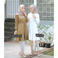 Baju atasan muslimah tunik wanita / Viola tunik Terbaru dan Terlaris