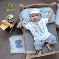 Baju koko bayi laki-laki bahan adem nyaman