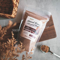 Nourish Indonesia, Natural Brown Flaxseed Meal 250 gr
