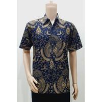 Kemeja Hem Baju Seragam Pria Batik Kantor 2904 M - BIG SIZE
