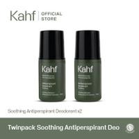 Twinpack Kahf Soothing Antiperspirant Deodorant