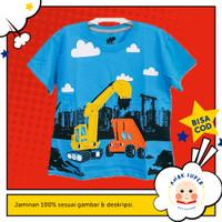 Baju/Kaos Anak Motif Crane 1 - 10 Tahun