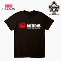 Kaos Baju Youtube Youtuber Kaos Sosmed