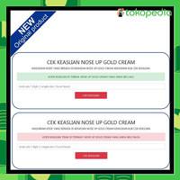 PROMO NOSE UP GOLD CREAM OBAT PEMANCUNG HIDUNG PERMANEN 100% ORIGINAL