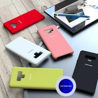 Silicone Cover Samsung Galaxy Note 9 Note9 Original Silikon Soft Case