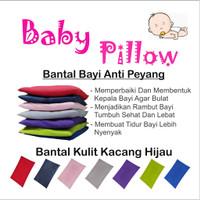 Bantal Bayi Anti Peyang Baby Pillow Original Isi Kulit Kacang Hijau