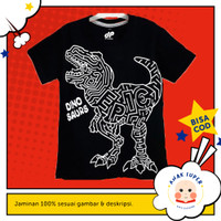 Baju Anak/Kaos Anak Laki-Laki Motif DINO EPIC 1 - 10 Tahun Anak Super