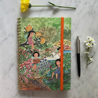 Planner Agenda Secret Garden Kamalika Artprints